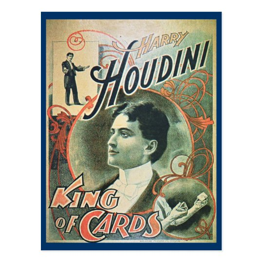 Houdini postcard