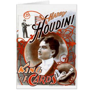 Houdini - rey de tarjetas