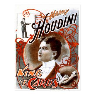 Houdini - rey de tarjetas postal