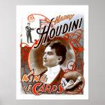 Houdini - rey de tarjetas posters