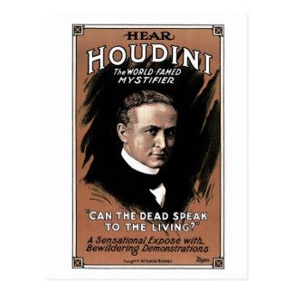 """Houdini - """"saben los muertos hablar"""" la postal"""