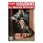 Houdini, The Mastery Mystery vintage poster 1919