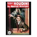 Houdini, The Mastery Mystery vintage poster 1919 Post Card