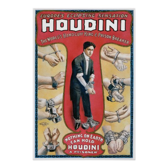 escape houdini research paper Harry houdini's grand illusions and daring, spectacular escape acts made him one of the most famous magicians of all time born erich weisz on march 24, 1874, in budapest, hungary, young harry.