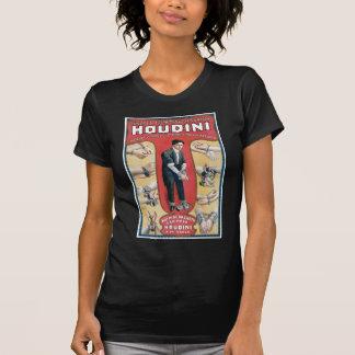Houdini ~ Vintage Handcuff Escape Artist T-Shirt