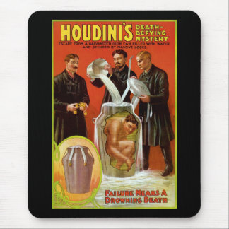 Houdini's Death-Defying Mystery Mouse Pad