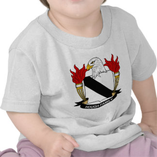 Hough Family Crest Tee Shirts