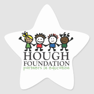 Hough Foundation and Sip and Stroll Gear! Star Sticker
