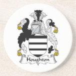 Houghton Family Crest Beverage Coaster