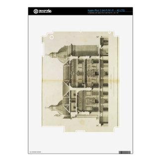 Houghton Hall: cross-section of the Hall and Salon iPad 3 Skins
