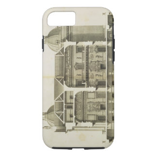Houghton Hall: cross-section of the Hall and Salon iPhone 8/7 Case