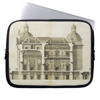 Houghton Hall: cross-section of the Hall and Salon Laptop Sleeve