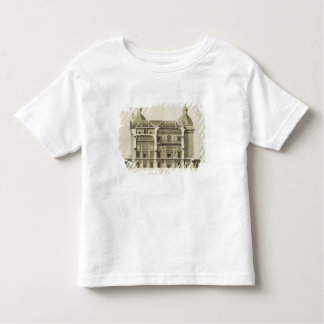 Houghton Hall: cross-section of the Hall and Salon Toddler T-shirt