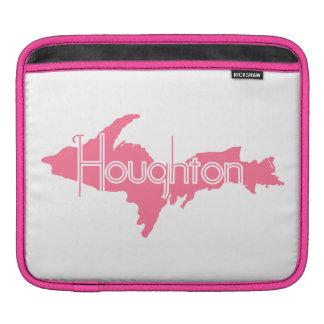 Houghton Michigan Upper Peninsula iPad Sleeves