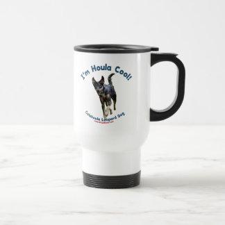 Houla Cool Catahoula Dog 15 Oz Stainless Steel Travel Mug
