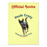 Houla Dog Crazy Invitations