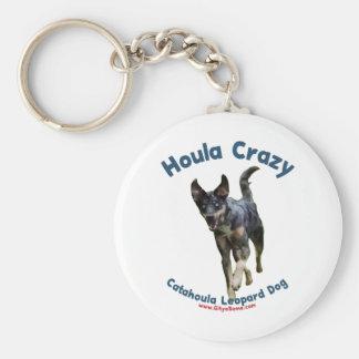 Houla Dog Crazy Keychain