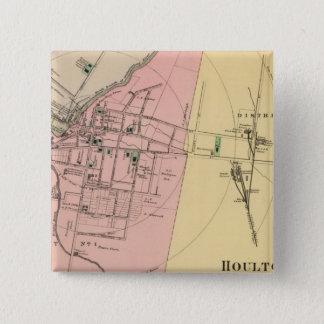 Houlton, Aroostook Co Pinback Button