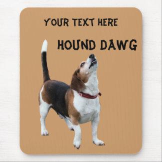 Hound Dawg Beagle Funny Dog Mousepad