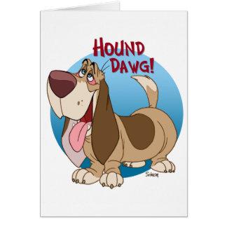 hound dawg card