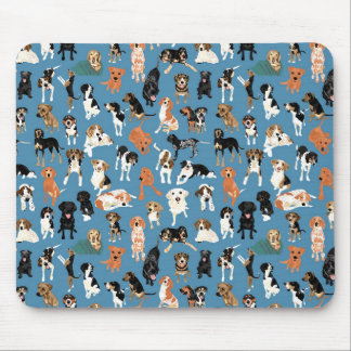 Hound District Mouse Pad