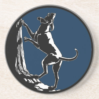 Hound Dog Art Drink Coasters Hunting Dog Coasters