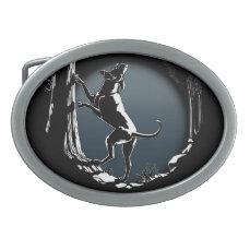 Hound Dog Belt Buckle Hunting Dog Belt Buckle