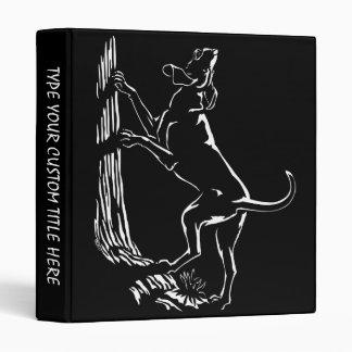 Hound Dog Book Binder Coonhound Photo Album Binder
