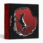 Hound Dog Book Binder Hunting Dog Art Photo Album 3 Ring Binder