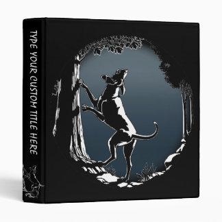 Hound Dog Book Binder Hunting Dog Art Photo Album