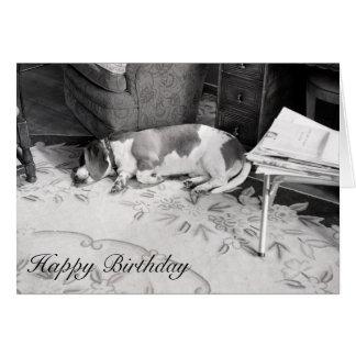 Hound Dog Card