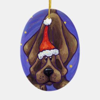 Hound Dog Christmas Ornament