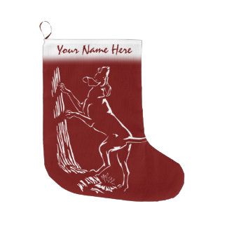 Hound Dog Christmas Stocking Dog Lover Stockings