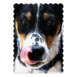 Hound Dog Custom Invitation