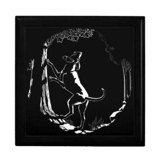 Hound Dog Gift Box Custom Hound Dog Jewelry Box