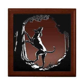 Hound Dog Gift Box Hound Dog Lover Jewelry Box