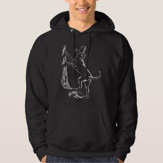 Hound Dog Hoodie Hunting Dog Hooded Shirts