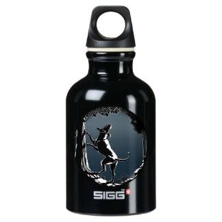 Hound Dog Hunting Dog Art Bottle