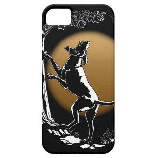 Hound Dog iPhone 5 Case Hunting Dog Art Case