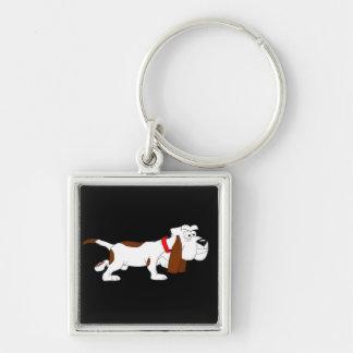 Hound dog keychain