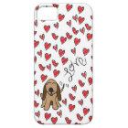 Hound Dog Love iPhone SE/5/5s Case