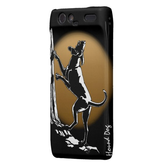 Hound Dog Motorola RAZOR Case Hunting Dog Case