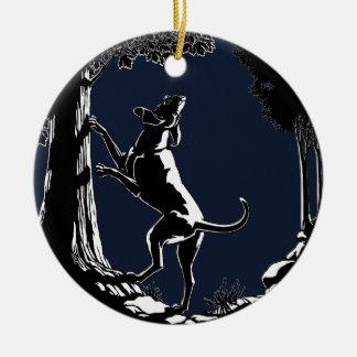 Hound Dog Ornament Hunting Dog Art Decoration