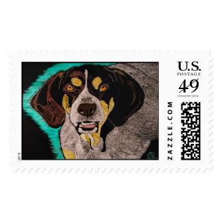 Hound Dog Stamp