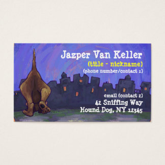 Hound Dog Stationery Business Card
