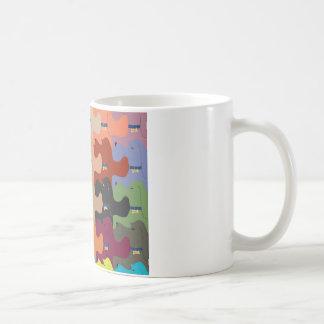 Hound Dog Tessellation Mug