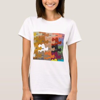 Hound Dog Tessellation T-Shirt