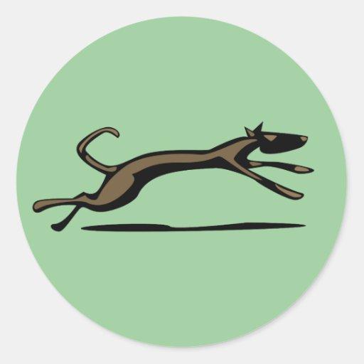 Hound Dog Unleashed Stickers