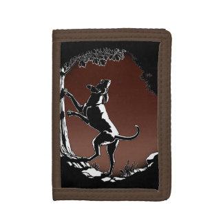 Hound Dog Wallet Cool Hunting Dog Art Wallet Gifts