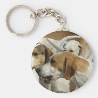 Hound Dogs Keychain